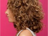 Curly Hairstyles Back View Medium Curly formal Hairstyle Chestnut Brunette Hair Color