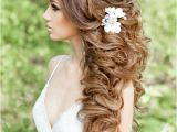 Curly Hairstyles Bridesmaids 20 Gorgeous Half Up Wedding Hairstyle Ideas 15