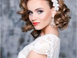 Curly Hairstyles Bridesmaids 26 Short Wedding Hairstyles and Ways to Accessorize them