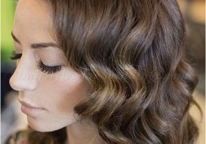 Curly Hairstyles for Medium Length Hair for Weddings Wedding Hairstyles for Medium Length Hair Wavy Wedding