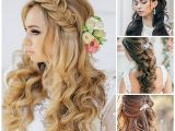 Curly Hairstyles for Medium Length Hair for Weddings Wedding Hairstyles Inspirational Wedding Hairstyles for