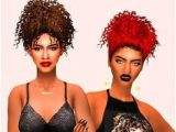 Curly Hairstyles Sims 4 146 Best Hairstyles Ts4cc Images