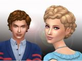 Curly Hairstyles Sims 4 Sims 4