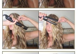 Curly Hairstyles with Flat Iron How to Make Little Fishtails for Your Hair