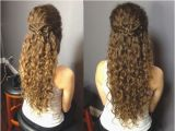 Curly Half Updo Hairstyles for Prom 14 Luxury Hairstyles with Your Hair Down