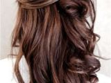 Curly Half Updo Hairstyles for Prom 55 Stunning Half Up Half Down Hairstyles Prom Hair