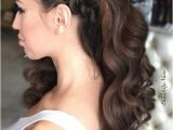 Curly Prom Hairstyles for Long Hair to the Side 27 Gorgeous Prom Hairstyles for Long Hair