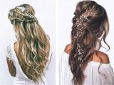 Curly Prom Hairstyles for Long Hair to the Side Pretty Curly Prom Hairstyles Tumblr Princessy Half Updo