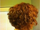 Curly Stacked Bob Haircuts Curly Stacked Bob Red
