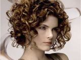 Curly Stacked Bob Haircuts Short Curly A Line Bob