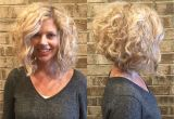 Curly Swing Bob Hairstyles Blonde Curly Inverted Bob by Stylist Misty Callaway Cheveux Salon
