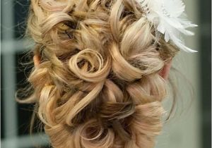 Curly Wedding Updo Hairstyles Updo Hair Model Curly Updo by Giao Nguyen