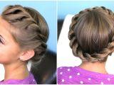 Cute 2 Braid Hairstyles How to Create A Crown Twist Braid