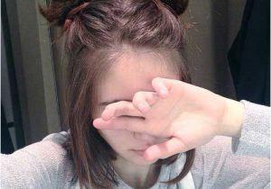 Cute 2 Bun Hairstyles Cute Bun Hairstyle for Short Hair Ombré Hair Pinterest