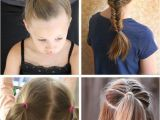 Cute 2-in-1 Hairstyles Back to School Hairstyles for Girls New Easy Back to School