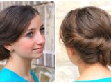 Cute and Easy Hairstyles for Homecoming Easy Twist Updo Prom Hairstyles