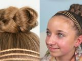 Cute and Easy Hairstyles for Teens Simple Braided Bun Cute Quick Style Designed for Young