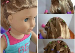 Cute and Easy Hairstyles for Your American Girl Doll Easy Easter Hair Do for Dolls