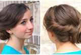 Cute and Easy Prom Hairstyles Easy Twist Updo Prom Hairstyles