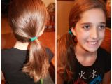 Cute and Fast Hairstyles for School Back School Cute Easy Hairstyles Side Pony