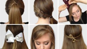 Cute and Super Easy Hairstyles Step by Step S Of Elegant Bow Hairstyles Hairzstyle
