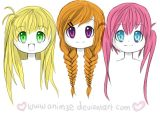 Cute Anime Girl Hairstyles top 10 Picture Of Anime Girl Hairstyles