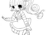 Cute Anime Hairstyles for Girls New Cute Anime Chibi Girl Coloring Pages Katesgrove