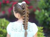 Cute athletic Hairstyles Stacked Pull Through Braid