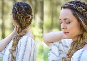 Cute Back to School Hairstyles for Little Girls Double Dutch Side Braid Diy Back to School Hairstyle