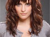 Cute Bang Hairstyles for Medium Hair Bang Hairstyles for Curly Hair