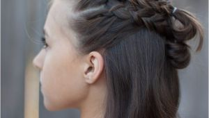 Cute Braiding Hairstyles for Short Hair 5 Braids for Short Hair