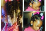 Cute Bun Hairstyles for Black Girls Simple Hair Styles for Little Black Girls Braids Beads and
