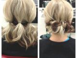 Cute Easy 10 Minute Hairstyles for Short Hair Updo for Shoulder Length Hair … Lori