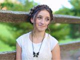 Cute Easy Country Girl Hairstyles Milkmaid Braid Cute Summer Hairstyles