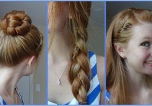 Cute Easy Girl Hairstyles for School Quick Easy Cute Hairstyles for School Girls Newcute