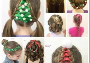Cute Easy Hairstyles for Christmas 20 Easy Christmas Hairstyles for Little Girls