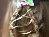 Cute Easy Hairstyles for Christmas Christmas Tree Braid Cute Girls Hairstyle