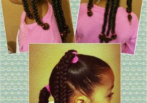 Cute Easy Hairstyles for Mixed Hair Mixed Black Braids Girls Kids Curly Curls Natural Hair