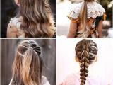 Cute Easy Hairstyles for School Days Different Hairstyles for Kids Girls