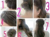 Cute Easy Hairstyles for School Step by Step Easy Hairstyles for School for Teenage Girls Step by Step