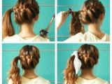 Cute Easy Hairstyles for School Step by Step Pretty Cute Braided Updo Hairstyles for Medium Hair