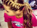 Cute Easy Hairstyles for Sports Easy Hairstyle French Braid Your Bangs and Pull Back Into