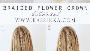 Cute Easy Hairstyles Simple Braided Flower Updo Cool Hairstyles for School Girls Elegant Simple Hair Styles for