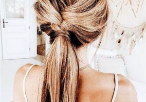 Cute Everyday Hairstyles Tumblr Cute Twisted Ponytail Easy Hairstyle Hair Ideas and Hairstyles