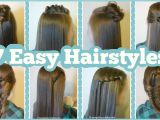 Cute Fast and Easy Hairstyles for School 7 Quick & Easy Hairstyles for School Hairstyles for