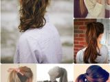 Cute Fast Ponytail Hairstyles 10 Quick Easy and Best Romantic Summer Date Night