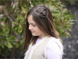 Cute Girl Hairstyles for Picture Day Cute Heart Accents Valentine S Day Hairstyles