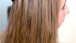 Cute Girl Hairstyles Waterfall Braid Dutch Waterfall Braid Cute Girls Hairstyles