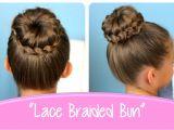Cute Girls Hairstyles Braided Bun 37 Braided Bun Styles Lovely Kimgowerforcongress