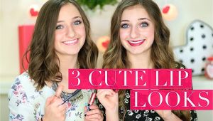 Cute Girls Hairstyles Brooklyn 3 Cute Lip Looks Brooklyn and Bailey